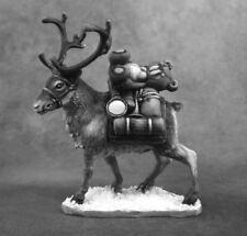 PACK REINDEER - PATHFINDER REAPER miniature jdr rpg d&d 01598 renne noel OOP