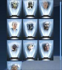 Topps Star Wars Card Trader Digital Gilded New Tier 6 Mando Monday Full Set 10