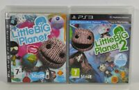 Little Big Planet 1 + 2 Playstation 3 PS3 Game Bundle Discs Near Mint PAL UK