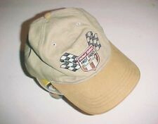 United States Hot Rod Association Adult Unisex Khati Beige Cap Hat One Size