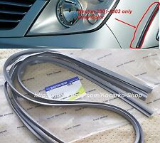 OEM Front Wheel Arch Garnish Pad Gray 2PC Ssangyong Rexton 2001-2003