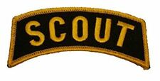 US ARMY SCOUT ROCKER TAB PATCH UNOFFICIAL 19D CAVALRY VETERAN