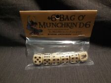 Steve Jackson Games ~ +6 Bag o' Munchkin D6 Dice