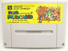 Super Famicom SUPER MARIO WORLD bros 4 Nintendo Video Game Cartridge Only sfc
