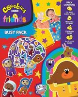 Cbeebies Busy Pack Colouring Set Travel Kids Activity Party Bag