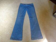 """Hip Hugger Hippy/Go Go Flare Bottom Denim Jeans 33X34.5"""""""