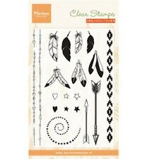 Marianne Design Clear Stamp - Feathers CS0990