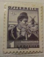 Austria 1934-35 Stamp 1 Groschen MNH Stamp StampBook1-16