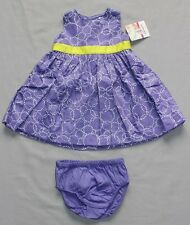 Carter's Dress and Bloomers size 6 months 00 BNWT