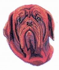 Large Embroidered Zippered Tote - Dogue de Bordeaux BT2784
