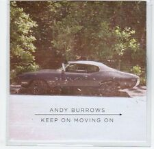 (EF594) Andy Burrows, Keep On Moving On - 2013 DJ CD