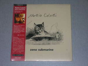 MATTIA COLETTI ZENO SUBMARINE JAPAN mini lp CD SEALED