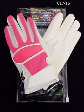Cutters Gloves Football WR/RB 017 Pink/White Size Large