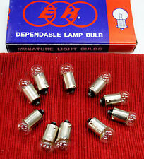 UNIVERSAL MINIATURE 12V 3W PILOT-WARNING BULBS X10 13-019