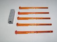 Lego ® Brique Lanceur + 5 Tige Flèche 1x8 SW Arrow TRS Orange 15301+15303 NEW