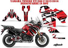 AMR RACING DEKOR GRAPHIC KIT YAMAHA YZF R1, XT 1200 TENERE Z/ZE ATTACK B
