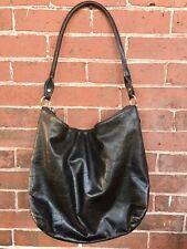 Vintage Kate Spade Soft Leather Hobo Bag Purse Tote Brass Hardware