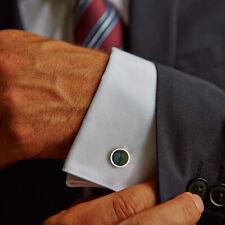 Labradorite Gemstone 925 Sterling Silver Cufflinks Men's Accessories Jewelry