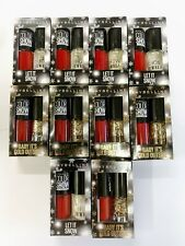 MAYBELLINE 10 x 7ml 60 Seconds Color Show Nail Polish & Nail Jewels Job Lot