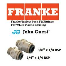 Franke Triflow Filter Housing - Genuine 1/4 and 3/8 John Guest Push Fit Fittings