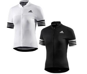 New Women's Adidas Adistar Cycling Biking Jersey Bike Top Shorts Sleeve T-Shirt