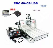 3 Axis Motors CNC 6040Z Router Engraver Engraving Drilling Milling Machine great