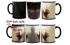 Walking Dead Magic Zombie Color Changing Heat Sensitive Coffee Tea Magic Mug