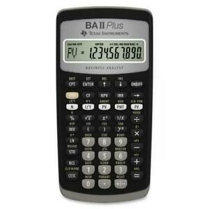 Texas Instruments BA-II Plus Advance Financial Calculator