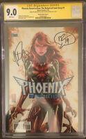 Phoenix Resurrection 1 CGC 9.0 Signed By Mark Brooks & Matt Rosenberg