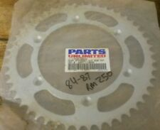 SUZUKI RM 250 REAR SPROCKET parts unlimited K22-3801R 50T 84-87