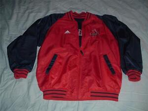 St Louis CARDINALS Baseball Reversible Jacket Youth 14-16 Large MLB Vintage Logo