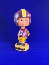 1970's Washington Redskins Vinyl plastic Bobble Head/Nodder