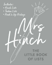 The Little Book of Lists by Mrs Hinch (2020, Hardcover)