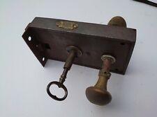 Vintage Reclaimed Door Lock With Key