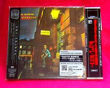 David Bowie The Rise And Fall Of Ziggy Stardust MINI LP CD JAPAN + PROMO OBI