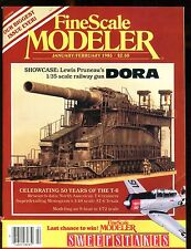 Fine Scale Modeler Magazine January/February 1985 Dora EX No ML 010617jhe