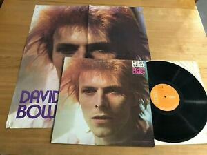DAVID BOWIE...SPACE ODDITY..RARE UK ISSUE ALBUM + POSTER..RCA..LSP 4813