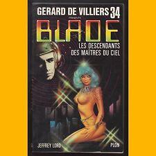 Blade N° 34 LES DESCENDANTS DES MAÎTRES DU CIEL Jeffrey Lord 1982