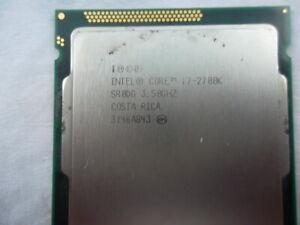INTEL QUAD CORE i7-2700K 3.50GHz SR0DG 8M CACHE  CPU LGA1155