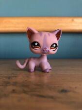 Lps shorthair cat #933 pink purple