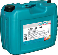 ADDINOL Super Light 0540 20 Liter (3,69€/L) 5W-40 Leichtlauföl VW BMW Mercedes 2