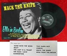 LP Ella Fitzgerald: Ella in Berlin - Mack The Knife (Verve) RE