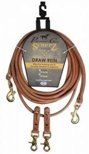 Rounded Draw Reins by Shutz Leather