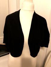 F&F Size 22 Black Bolero Cardigan New With Tag G5