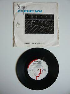 """Cutting Crew (I Just) Died In Your Arms Vinyl UK 1986 Siren 7"""" Single A8/B4 Mtrx"""