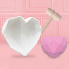 Silicone Cake Decorating Moulds Chocolate DIY Baking Mold Love Heart Shape Home