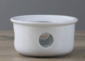 Thomas Trend Basic white weiß Form 11400 Stövchen für Tee-/Kaffeekanne  Ø 12,2