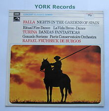 SXLP 30152 - FALLA - Nights In The Gardens Of Spain DE BURGOS - Ex Con LP Record