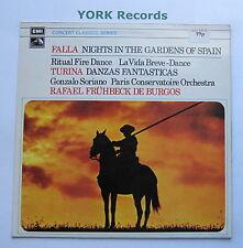SXLP 30152 - FALLA - Nights In The Gardens Of Spain DE BURGOS - Ex Con LP Record