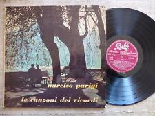 Narciso Parigi, Francesco Ferrari Orchestra Melodica - Le Canzoni dei ricordi LP